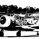 North American AT-6C Harvard - ZU-AOO by RatManDude