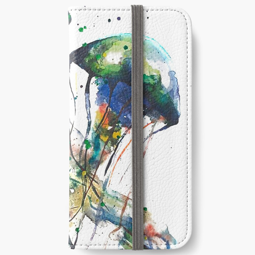 JellyFish Mating Dance iPhone Wallet
