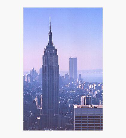 Empire State Building, New York, USA, 1972 Photographic Print