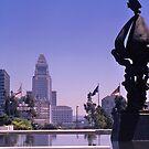 City Hall, Los Angeles, California, USA, 1972 by johnrf