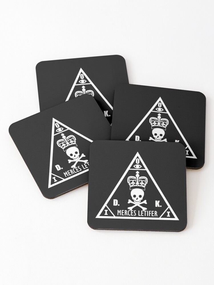 Hitman International Contract Agency Coasters Set Of 4 By Fareast Redbubble