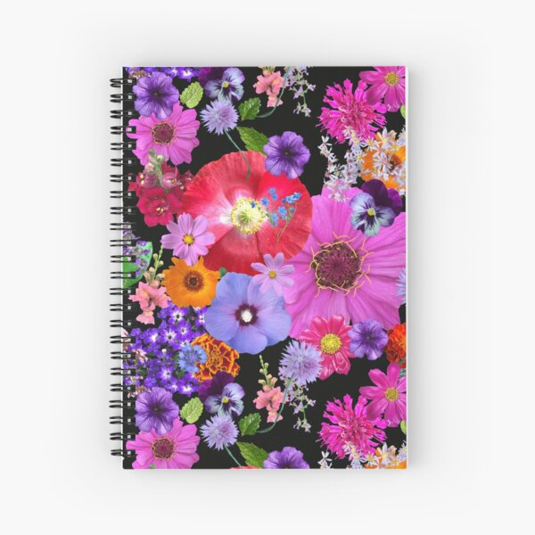 Dreaming in the Garden Bed by Tea with Xanthe Spiral Notebook