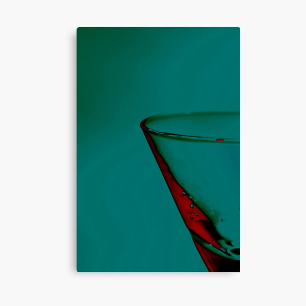 Glass in Green... Canvas Print