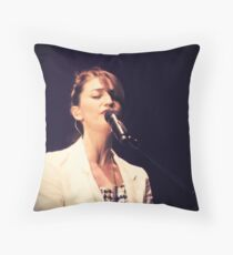 """""""I'm already out of foolproof ideas so don't ask me how to get started, it's all uncharted"""" Throw Pillow"""