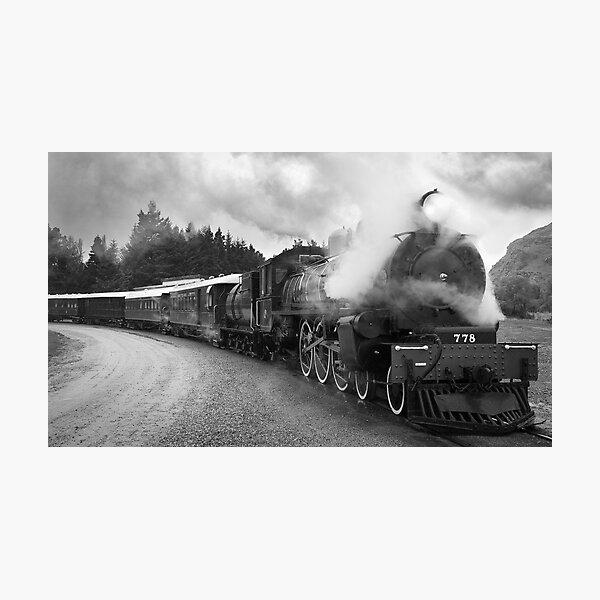778 Locomotive  Photographic Print