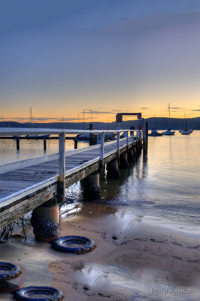 Perspective - (HDR Panorama) Paradise Beach, Sydney - The HDR Experience by Philip Johnson