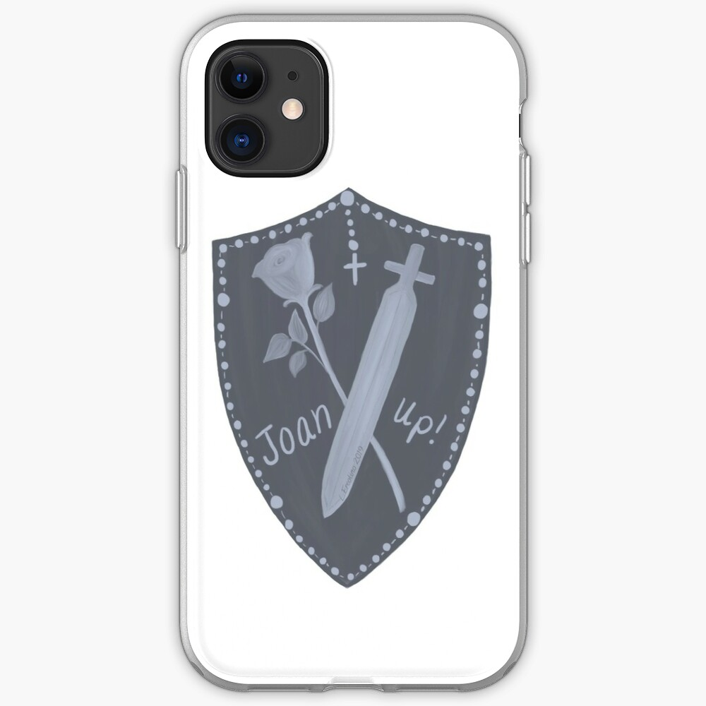 Joan Up! St. Joan of Arc, daughter and warrior. iPhone Case & Cover