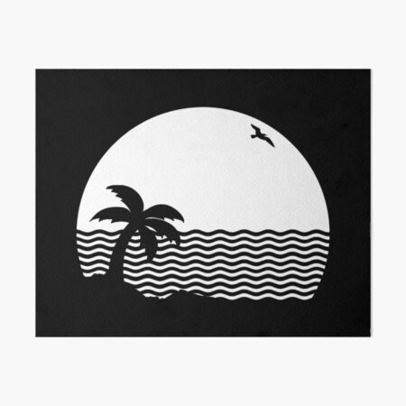 THE NBHD - Wiped Out! Art Board Print