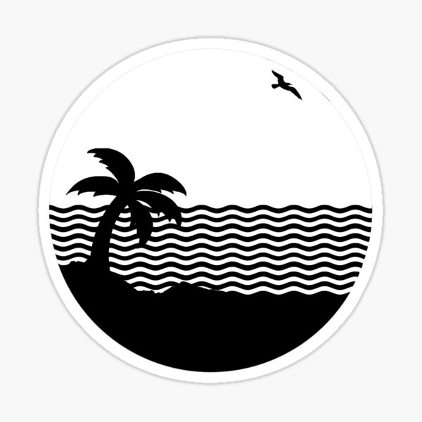 THE NBHD - Wiped Out! Sticker