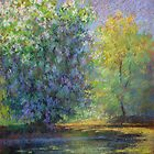 Spring reflections by Julia Lesnichy
