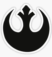 Rebel Logo Sticker