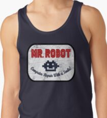 Mr Robot - Computer Repair With A Smile Tank Top