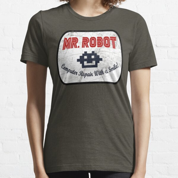 Mr Robot - Computer Repair With A Smile Essential T-Shirt