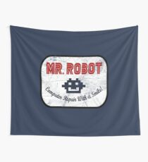 Mr Robot - Computer Repair With A Smile Wall Tapestry
