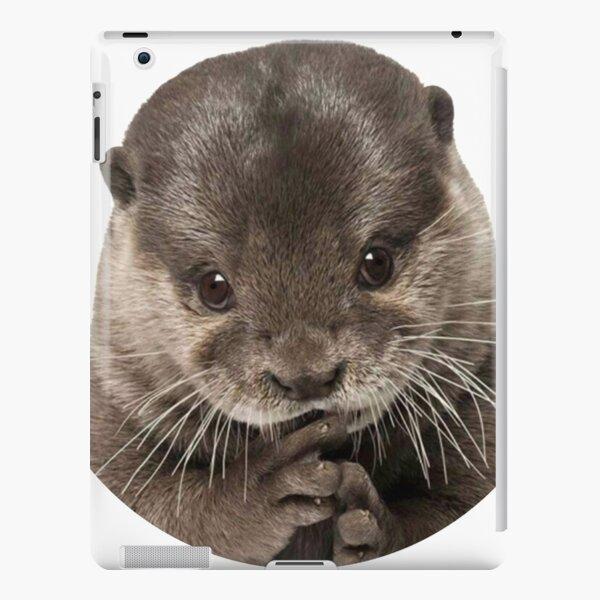 Cute baby otter iPad Snap Case