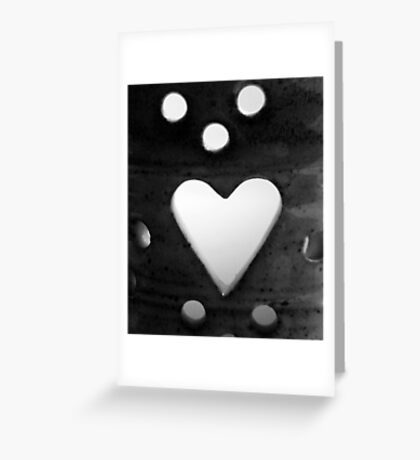 Candle Holder Cutouts Greeting Card