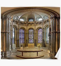 Chapel of Saints and Martyrs of Our Own Time, Canterbury Cathedral, England Poster