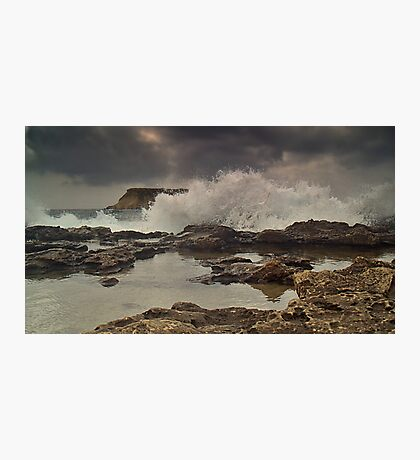 A Storm Brewing Photographic Print