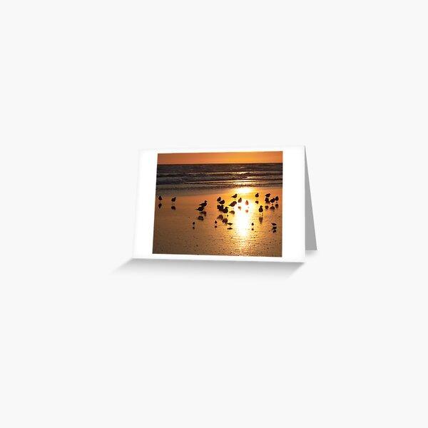 Goldenbirds Greeting Card
