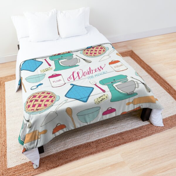 Waitress the Musical Pattern Comforter