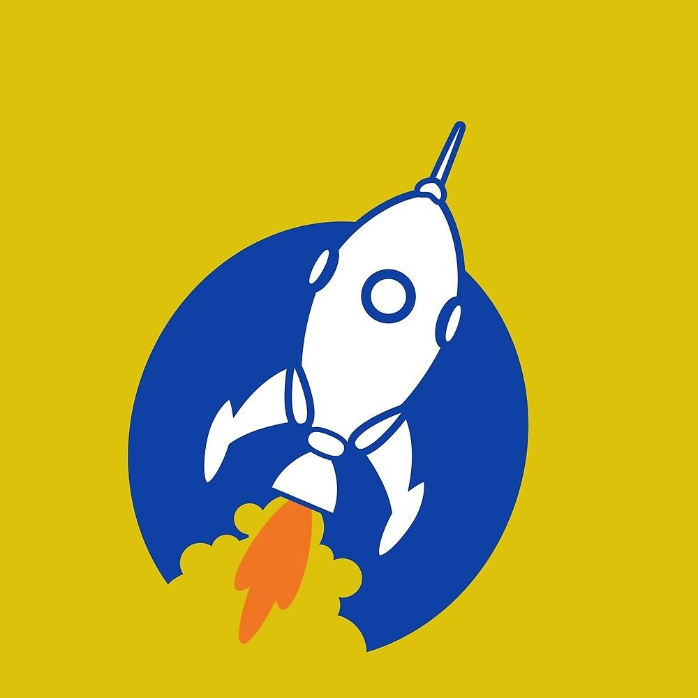 Rocket Blast by James Hindermeier