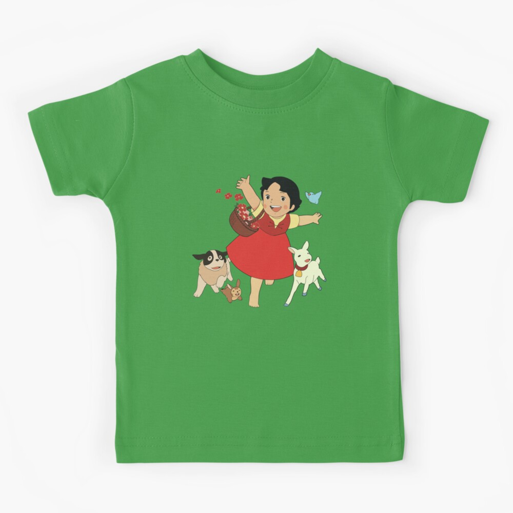 Heidi, the girl from the Alps Kids T-Shirt