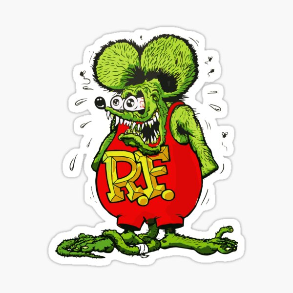 The Rat Fink Sticker