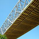 Underneath the Huey P. Long Bridge by Wanda Raines