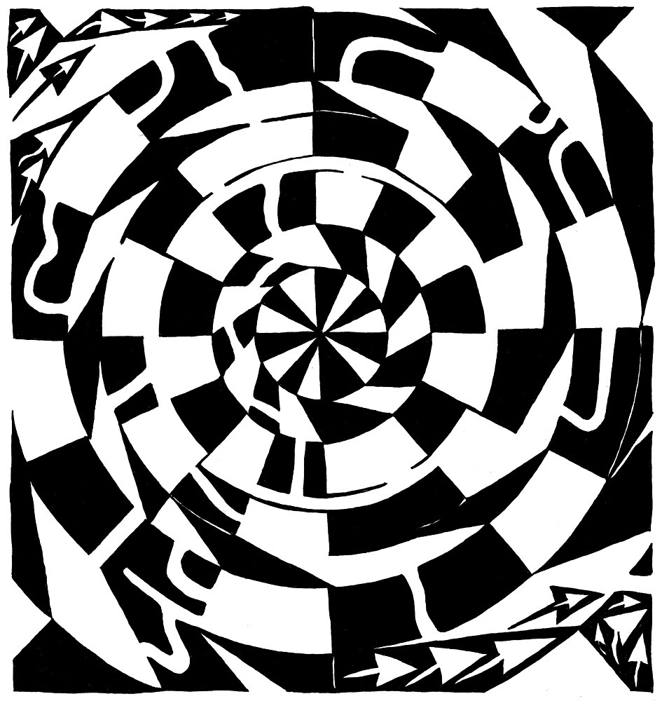 Spinning Tunnel Maze by Yonatan Frimer
