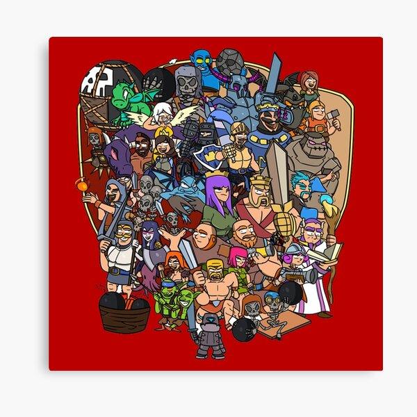 Clash Universe Canvas Print