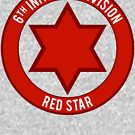 6th Infantry aka Red Star by jcmeyer