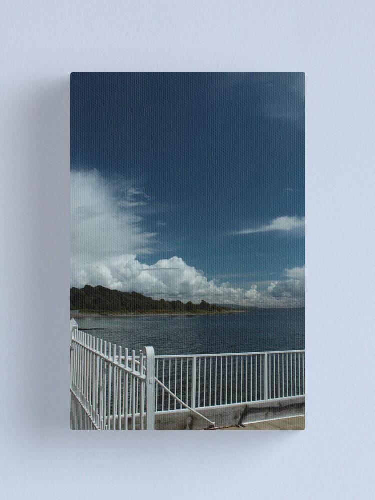 Alternate view of Kilcreggan Pier Canvas Print