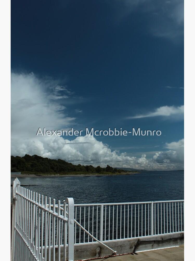 Kilcreggan Pier by Alexanderargyll