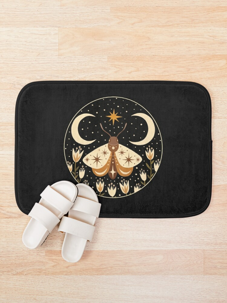Alternate view of Between two moons Bath Mat