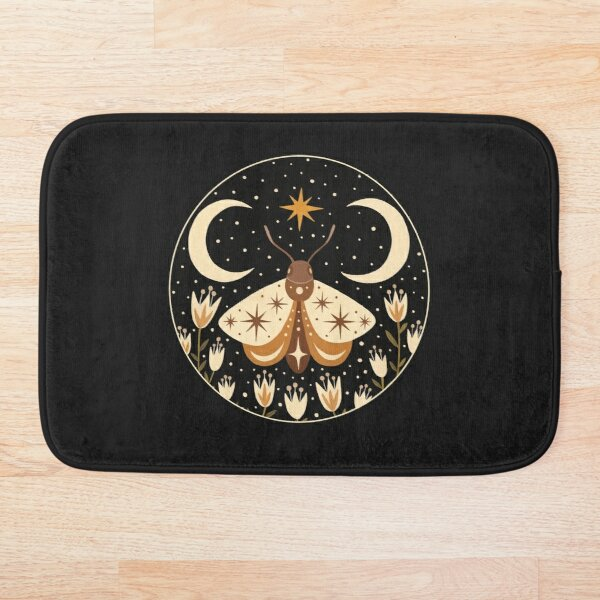Between two moons Bath Mat