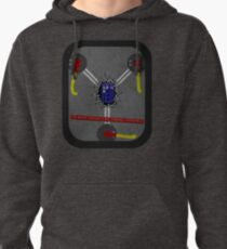 Fluxing Through Time Pullover Hoodie