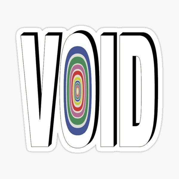 THE NBHD - VOID Sticker