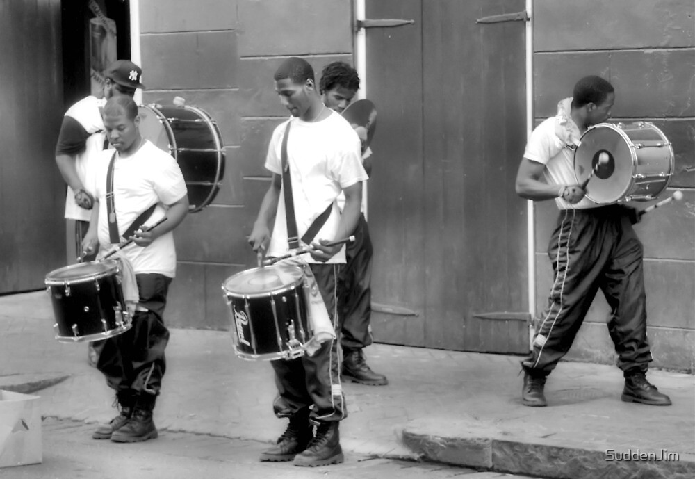 Street Percussion, New Orleans by SuddenJim