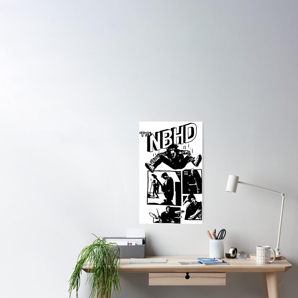THE NBHD - Comic Poster