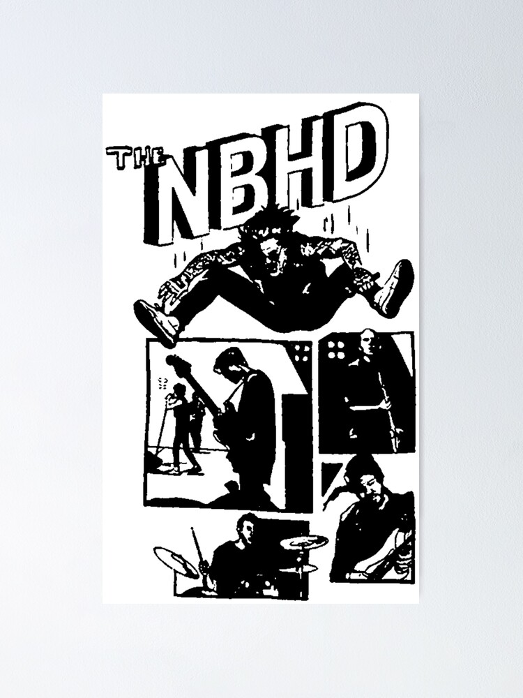Alternate view of THE NBHD - Comic Poster