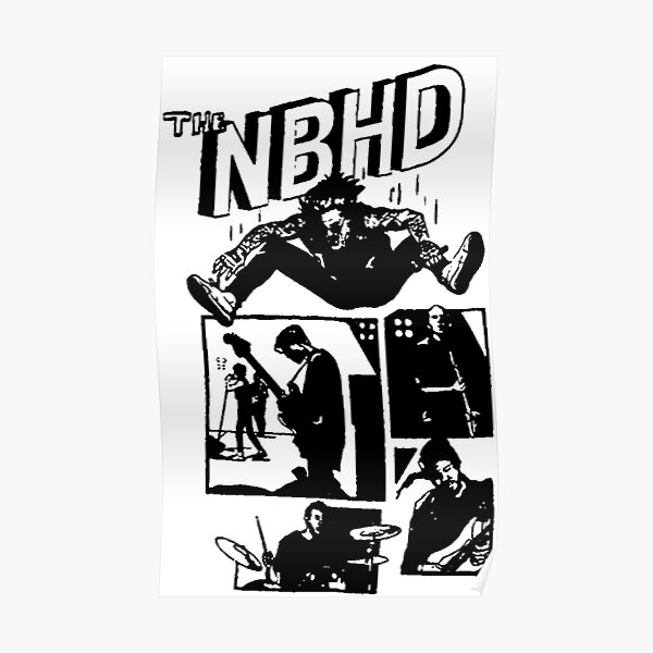 THE NBHD - Comic Poster