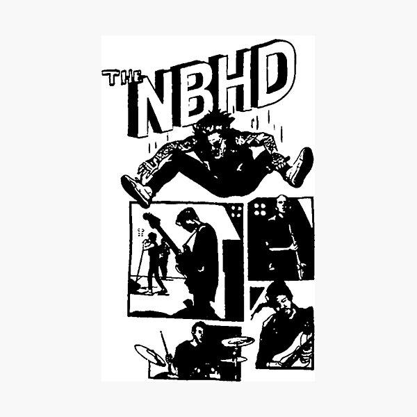 THE NBHD - Comic Photographic Print