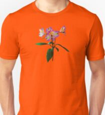 Lovely Pink Asiatic Lilies Unisex T-Shirt