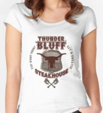 Thunderbluff Steakhouse! Women's Fitted Scoop T-Shirt