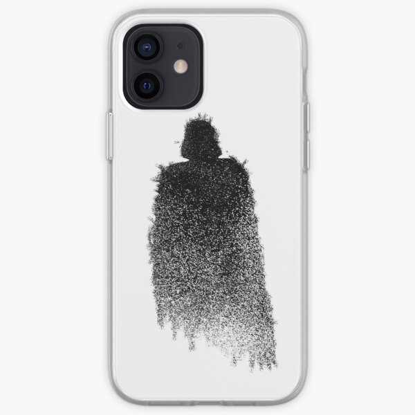Vader Minimal Splat iPhone Soft Case