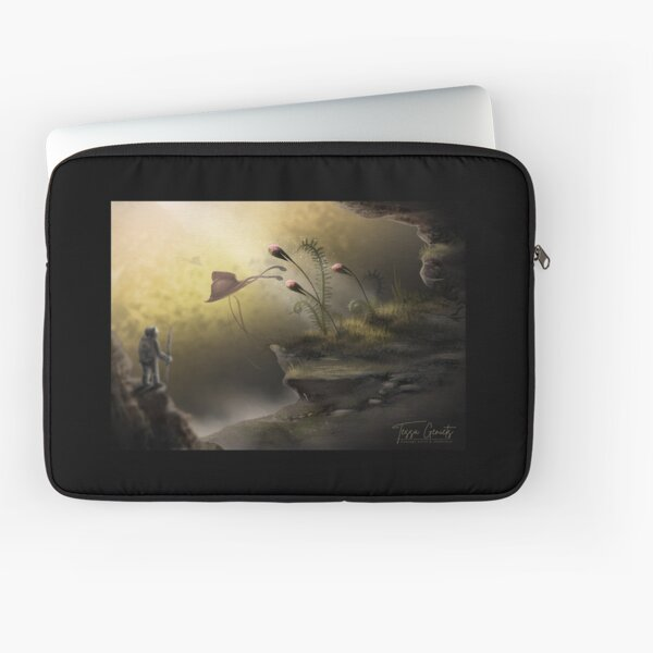 Imaginary life - Aliën landscape Laptop Sleeve