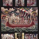 new land (collage) by Stephen McLaren