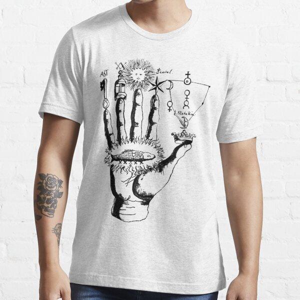 Mittelalterliche Alchemie Hand Symbole Essential T-Shirt