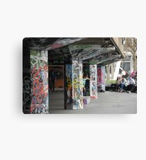 South Bank Skate Park, London Canvas Print