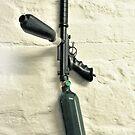 Paint-ball Gun. by Andy Nawroski